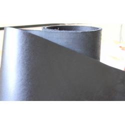 Кожа ременная с покрытием, черная (чепрак)