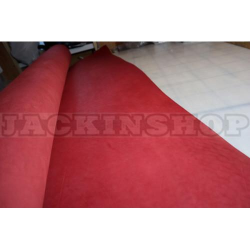 Кожа ременная красная 4.0-4,2 мм (чепрак)