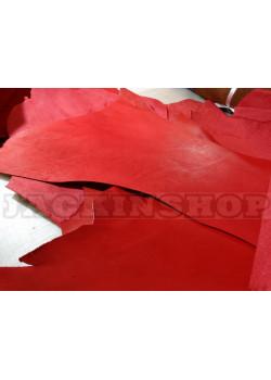 Кожа, краст, ПОЛА, красный 1,4-1,6 мм.
